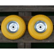 Set van 2 antilek Praxis Steekwagenwielen 4.10/3.50-4 (350x10)